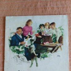 Coleccionismo Álbum: ALBUM CONCURSO NESTLÉ COMPLETO DE LOS AÑOS 50 Y EN MUY BUEN ESTADO. Lote 56498131