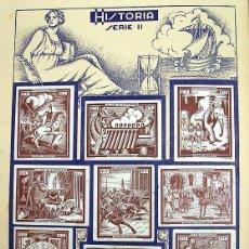 Coleccionismo Álbum: ALBUM 1935 CULTURA ESPANOLA COMPLETO. LA VOZ DE CANTABRIA SANTANDER. VER FOTOS. Lote 56614200