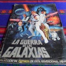 Coleccionismo Álbum: STAR WARS. LA GUERRA DE LAS GALAXIAS COMPLETO. PACOSA DOS 1977. REGALO EL RETORNO DEL JEDI COMPLETO.. Lote 56635676