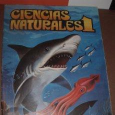 Coleccionismo Álbum: ALBUM CIENCIAS NATURALES 1 EASO COMPLETO. Lote 56649896