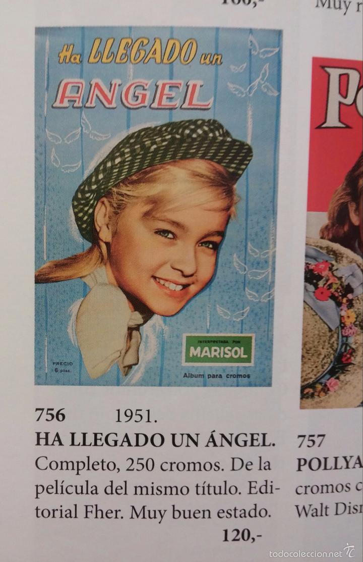 Coleccionismo Álbum: ALBUM HA LLEGADO UN ANGEL. MARISOL. COMPLETO. EDITADO POR FHER. AÑO 1961. - Foto 5 - 42699506