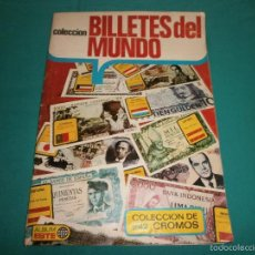 Coleccionismo Álbum: ALBUM ESTE COMPLETO BILLETES DEL MUNDO 242 CROMOS BUEN ESTADO VER FOTOS. Lote 56696887