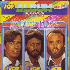 Coleccionismo Álbum: SUPER POP - ÁLBUM DE FOTOS DE LOS BEEGEES. Lote 56798808