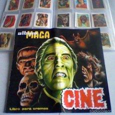Coleccionismo Álbum: CINE MAGA ALBUM VACIO + COLECCION COMPLETA . Lote 56832143