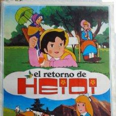 Coleccionismo Álbum: EL RETORNO DE HEIDI. Lote 56866794