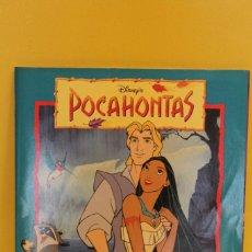 Coleccionismo Álbum: ALBUM COMPLETO - POCAHONTAS DE PANINI. Lote 56900175
