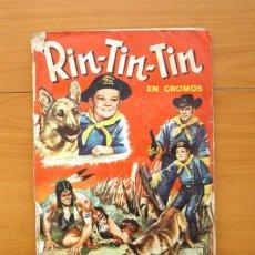 Coleccionismo Álbum: RIN-TIN-TIN - EDITORIAL FHER 1962 - COMPLETO, 228 CROMOS. Lote 56939440