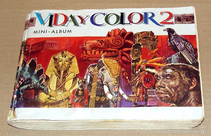 Coleccionismo Álbum: Album 1968 Vida y Color 2 Mini. Muy buen estado. Animales Razas Armas Arte Cultura Civilizaciones - Foto 2 - 48805862