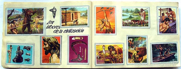 Coleccionismo Álbum: Album 1968 Vida y Color 2 Mini. Muy buen estado. Animales Razas Armas Arte Cultura Civilizaciones - Foto 3 - 48805862
