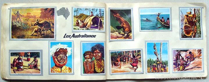 Coleccionismo Álbum: Album 1968 Vida y Color 2 Mini. Muy buen estado. Animales Razas Armas Arte Cultura Civilizaciones - Foto 8 - 48805862