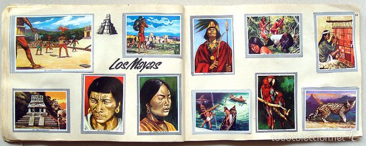Coleccionismo Álbum: Album 1968 Vida y Color 2 Mini. Muy buen estado. Animales Razas Armas Arte Cultura Civilizaciones - Foto 13 - 48805862