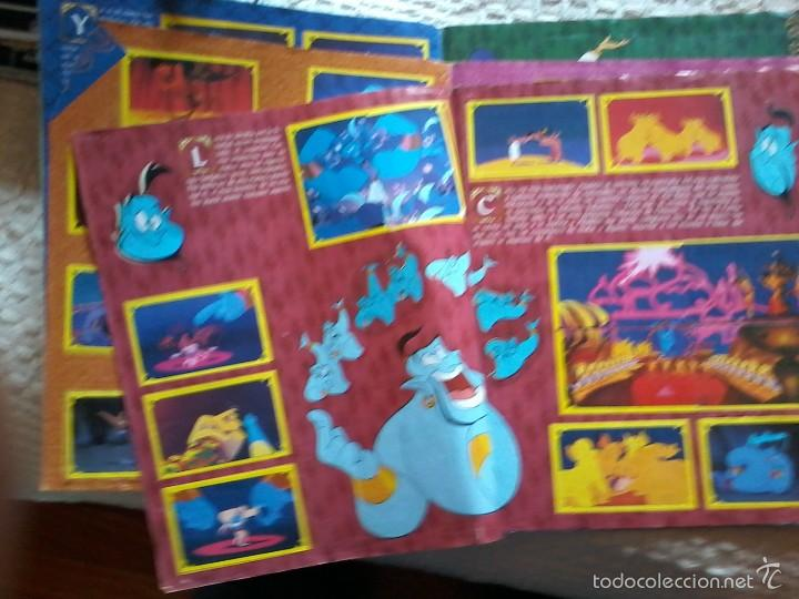 Coleccionismo Álbum: ALBUM CROMOS COMPLETO-ALADDIN-DISNEY-PANINI - Foto 2 - 171297269