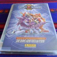 Coleccionismo Álbum: INVIZIMALS DESAFÍOS OCULTOS COMPLETA 470 CROMOS Y ARCHIVADOR. PANINI 2013 I. REGALO 194 DE 2014 II.. Lote 57306107