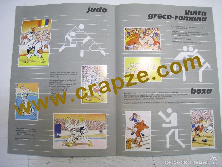 Coleccionismo Álbum: L'ANXENETA PRESENTA: OR, PLATA, BRONZE. ALBUM CROMOS COMPLETO - CAIXA CATALUNYA - Foto 3 - 57379919
