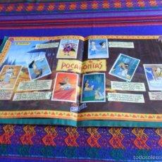 Coleccionismo Álbum: POCAHONTAS COMPLETO CON PÓSTER NESQUIK ENTERO. PANINI 1996. WALT DISNEY. MUY DIFÍCIL!!!!. Lote 57384203