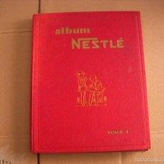Coleccionismo Álbum: ALBUM NESTLÉ TOMO I, ALBUM DE CROMOS COMPLETO, DE NESTLÉ. Lote 57408068