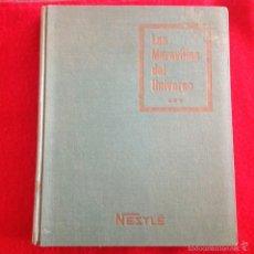 Coleccionismo Álbum: ALBUM COMPLETO DE NESTLE, TOMO III DE LAS MARAVILLAS DEL UNIVERSO, SERIE DE, 49 AL 74, 1958. Lote 56636226