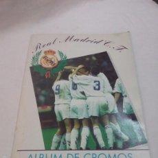Coleccionismo Álbum: ALBUM DE CROMOS REAL MADRID C.F. - COMPLETO. Lote 57494082