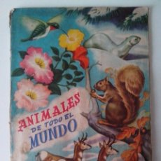 Coleccionismo Álbum: ALBUM ANIMALES DE TODO EL MUNDO FHER COMPLETO. Lote 57534797