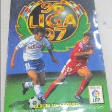 Coleccionismo Álbum: ALBUM LIGA 96 - 97. FUTBOL. COLECCIONES ESTE. COMPLETO CON COLOCAS Y ULTIMOS FICHAJES. VER. Lote 57657475