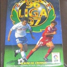 Coleccionismo Álbum: ALBUM LIGA 96 - 97. FUTBOL. COLECCIONES ESTE. COMPLETO CON COLOCAS Y ULTIMOS FICHAJES. VER. Lote 57657687