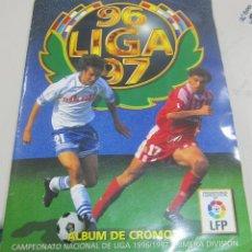 Coleccionismo Álbum: ALBUM LIGA 96 - 97. FUTBOL. COLECCIONES ESTE. COMPLETO CON COLOCAS Y ULTIMOS FICHAJES. VER. Lote 57657897