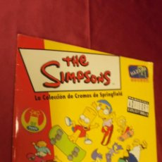 Coleccionismo Álbum: ALBUM CROMOS COMPLETO. THE SIMPSONS. SPRINGFIELD. PANINI.. Lote 57661279