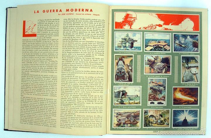 Coleccionismo Álbum: album 1944 Gallina Blanca 1er album. Buen estado.Ver fotos. Futbol, cine, animales, castillos, Colon - Foto 4 - 58207922