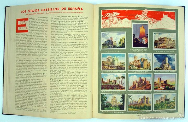 Coleccionismo Álbum: album 1944 Gallina Blanca 1er album. Buen estado.Ver fotos. Futbol, cine, animales, castillos, Colon - Foto 7 - 58207922