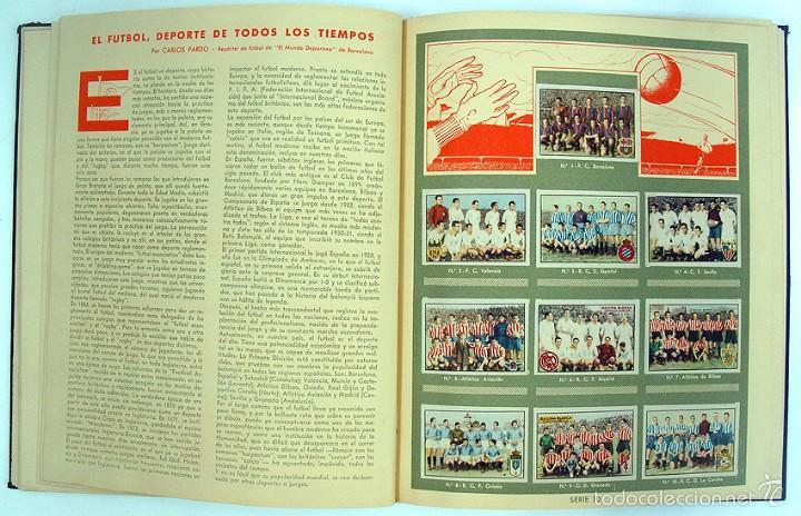 Coleccionismo Álbum: album 1944 Gallina Blanca 1er album. Buen estado.Ver fotos. Futbol, cine, animales, castillos, Colon - Foto 10 - 58207922