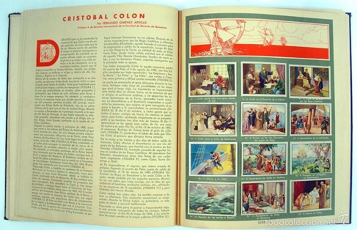 Coleccionismo Álbum: album 1944 Gallina Blanca 1er album. Buen estado.Ver fotos. Futbol, cine, animales, castillos, Colon - Foto 11 - 58207922