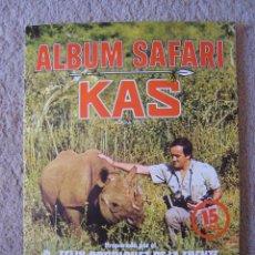 Coleccionismo Álbum: ALBUM SAFARI KAS-PREP`. PO FELIX RODRIGUEZ DE LA FUENTE-ED.FHER AÑO 1974. Lote 57703034