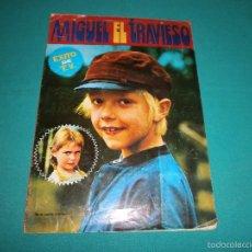 Coleccionismo Álbum: ALBUM COMPLETO MIGUEL EL TRAVIESO AÑO 1977 EDITORIAL FHER. Lote 57707381