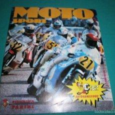 Coleccionismo Álbum: ALBUM MOTO SPORT AÑO 1980 SOLO A FALTA DE 1 CROMO EL 162 BUEN ESTADO. Lote 57707765