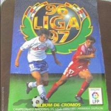 Coleccionismo Álbum: ALBUM LIGA 96 - 97. FUTBOL. COLECCIONES ESTE. COMPLETO CON COLOCAS Y ULTIMOS FICHAJES. VER. Lote 57723354