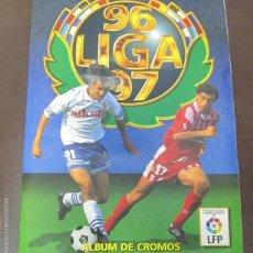 Coleccionismo Álbum: ALBUM LIGA 96 - 97. FUTBOL. COLECCIONES ESTE. COMPLETO CON COLOCAS Y ULTIMOS FICHAJES. VER. Lote 57723458