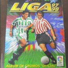 Coleccionismo Álbum: ALBUM LIGA 97 - 98. FUTBOL. COLECCIONES ESTE. COMPLETO CON COLOCAS Y ULTIMOS FICHAJES. VER. Lote 57723586