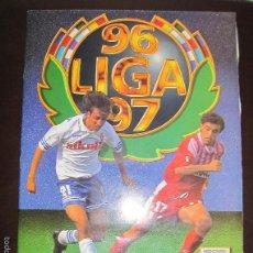 Coleccionismo Álbum: ALBUM LIGA 96 - 97. FUTBOL. COLECCIONES ESTE. COMPLETO CON COLOCAS Y ULTIMOS FICHAJES. VER. Lote 57723673