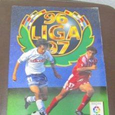 Coleccionismo Álbum: ALBUM LIGA 96 - 97. FUTBOL. COLECCIONES ESTE. COMPLETO CON COLOCAS Y ULTIMOS FICHAJES. VER. Lote 57723758