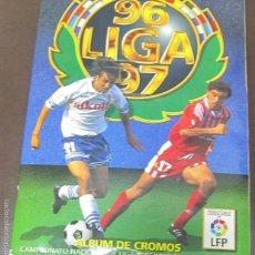 Coleccionismo Álbum: ALBUM LIGA 96 - 97. FUTBOL. COLECCIONES ESTE. COMPLETO CON COLOCAS Y ULTIMOS FICHAJES. VER. Lote 57723767