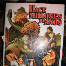 Coleccionismo Álbum: HACE MILLONES DE AÑOS ALBUM COMPLETO 210 CROMOS MUY BIEN CONSERVADO RUIZ ROMERO 1983. Lote 57734398