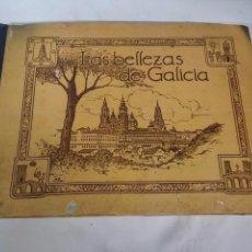Coleccionismo Álbum: ANTIGUO ALBUM DE CROMOS - GIL CAÑELAS, JUAN - LAS BELLEZAS DE GALICIA - EDICION HUECOGRABADO ARTE SI. Lote 57828769