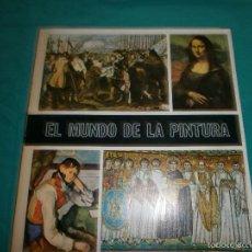 Coleccionismo Álbum: ALBUM COMPLETO EL MUNDO DE LA PINTURA 280 CROMOS AÑO 1967. Lote 57831990