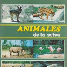 Coleccionismo Álbum: ALBUM, ANIMALES DE LA SELVA. -ED. EDICIONES SUSAETA 1972 COMPLETO. Lote 57801455