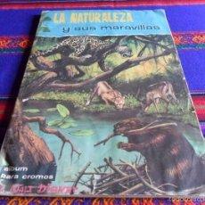 Coleccionismo Álbum: LA NATURALEZA Y SU MARAVILLAS COMPLETO. FHER 1963. WALT DISNEY. DIFÍCIL.. Lote 57884299