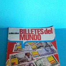 Collezionismo Álbum: ÁLBUM COMPLETO BILLETES DEL MUNDO ESTE. Lote 57980599