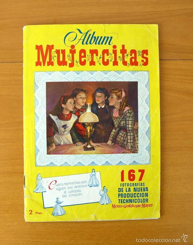 MUJERCITAS - EDICIONES CLIPER 1952 - COMPLETO (Coleccionismo - Cromos y Álbumes - Álbumes Completos)