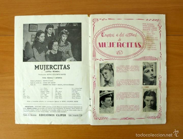 Coleccionismo Álbum: Mujercitas - Ediciones Cliper 1952 - COMPLETO - Foto 2 - 57988951