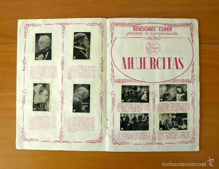 Coleccionismo Álbum: Mujercitas - Ediciones Cliper 1952 - COMPLETO - Foto 4 - 57988951