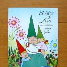 Coleccionismo Álbum: EL LIBRO DE LISA, DAVID EL GNOMO - DANONE 1985 - COMPLETO. Lote 57993883